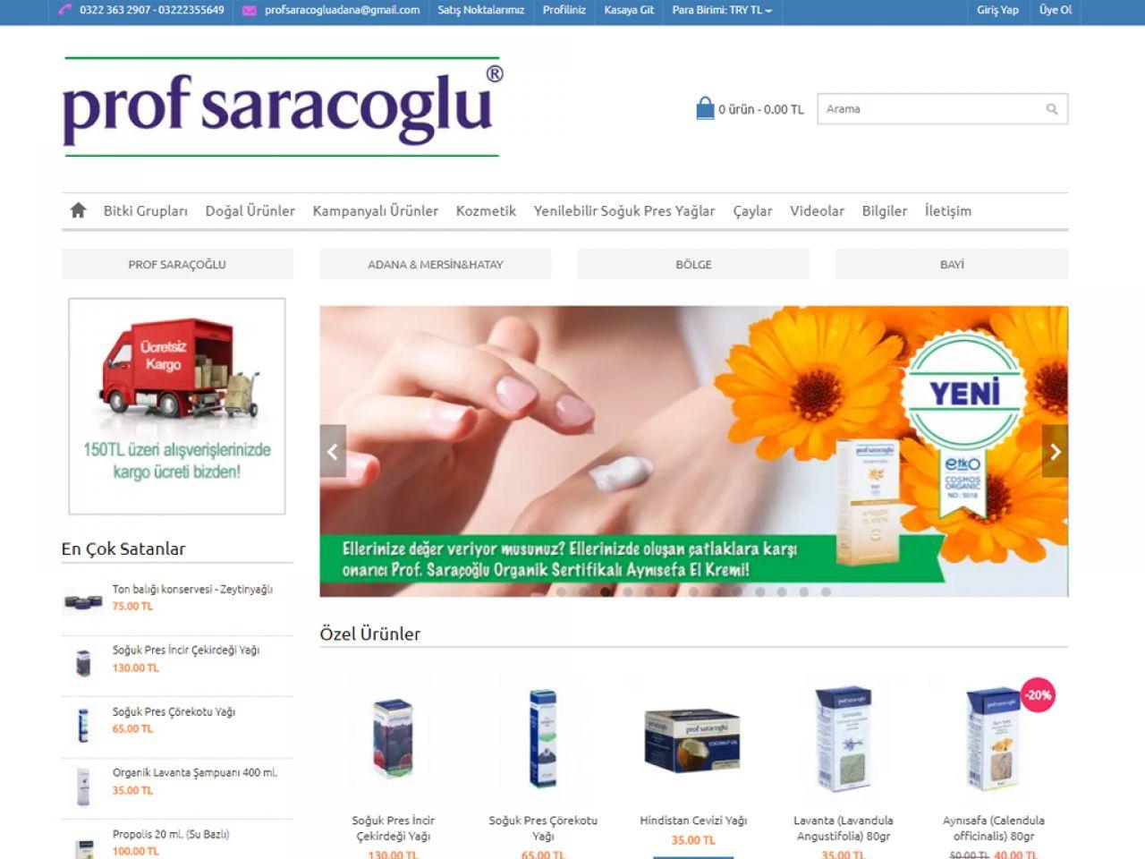 Prof Saraçoğlu Adana&Mersin