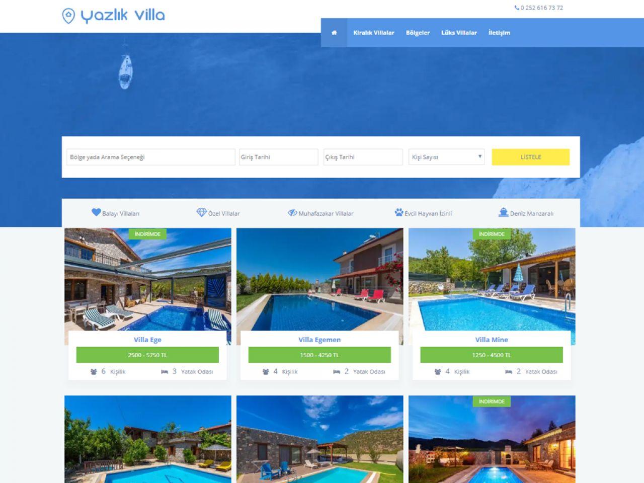 Yazlık Villa